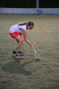 Damenlacrosse Groundball