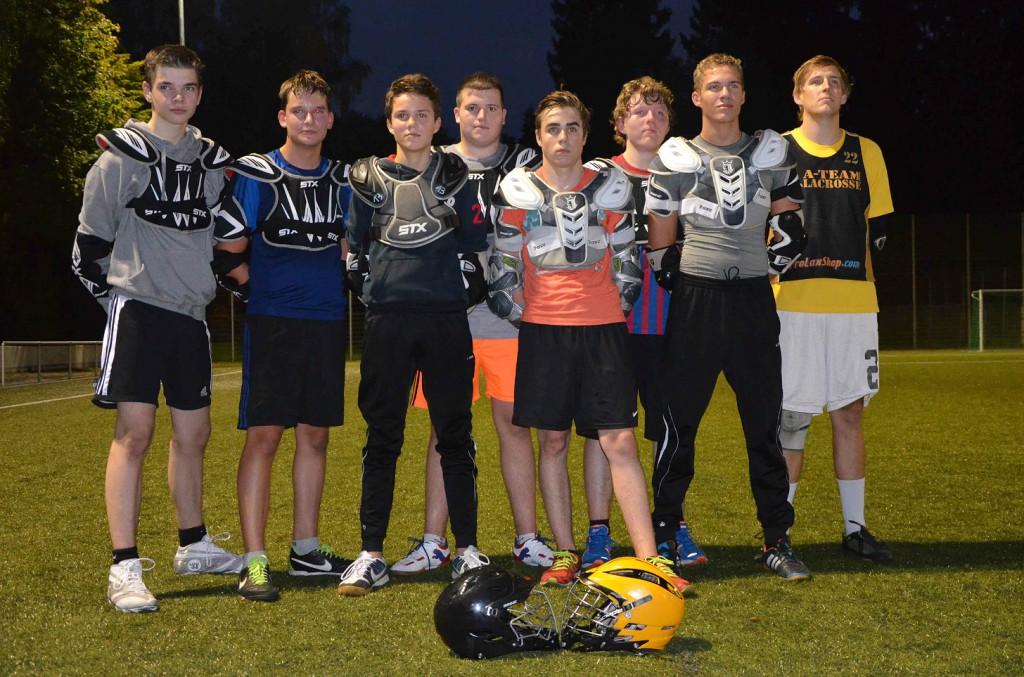 Jugendmannschaft mit Coach