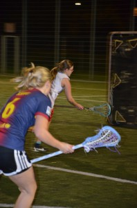 Damenlacrosse Shoot